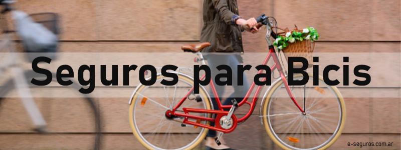 Cobertura Seguros de bicicletas Rivadavia