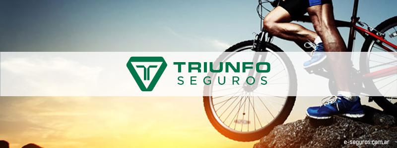 seguros de bicicletas, Triunfo seguros para bicicletas